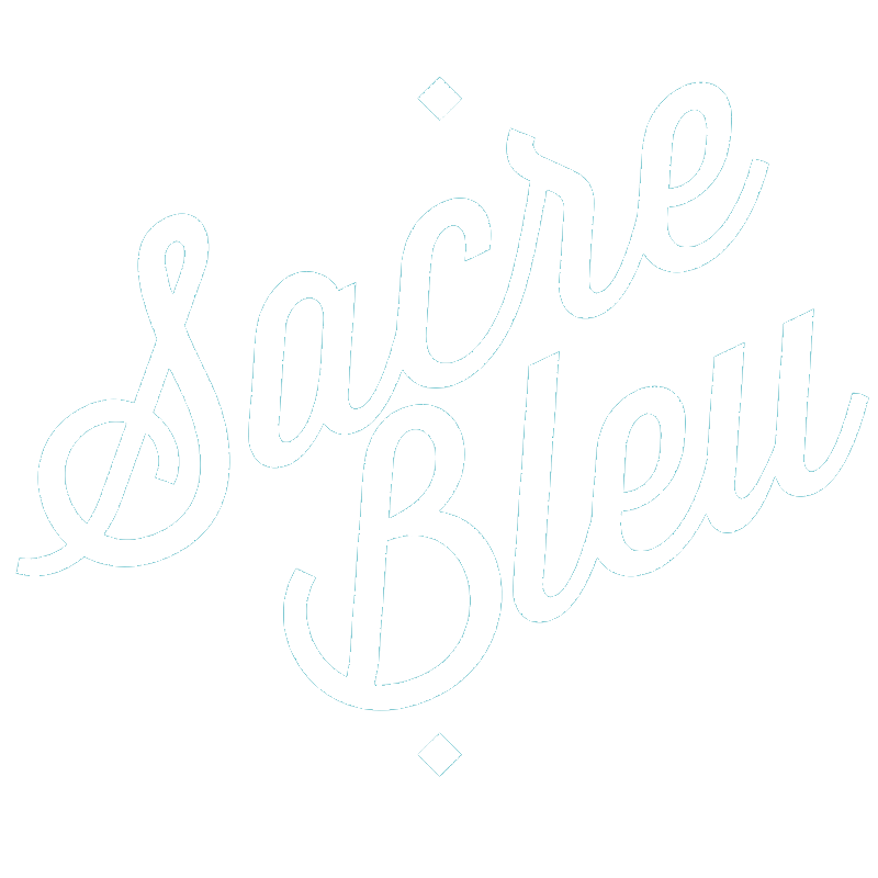 Logo Sacrebleu Art Agency
